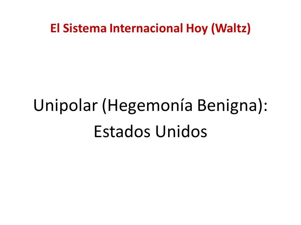 El Sistema Internacional Hoy (Waltz)