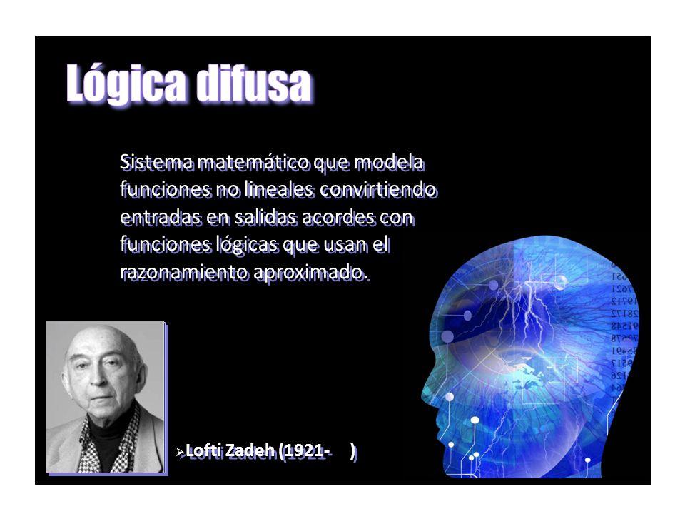 Lógica difusa Sistema matemático que modela