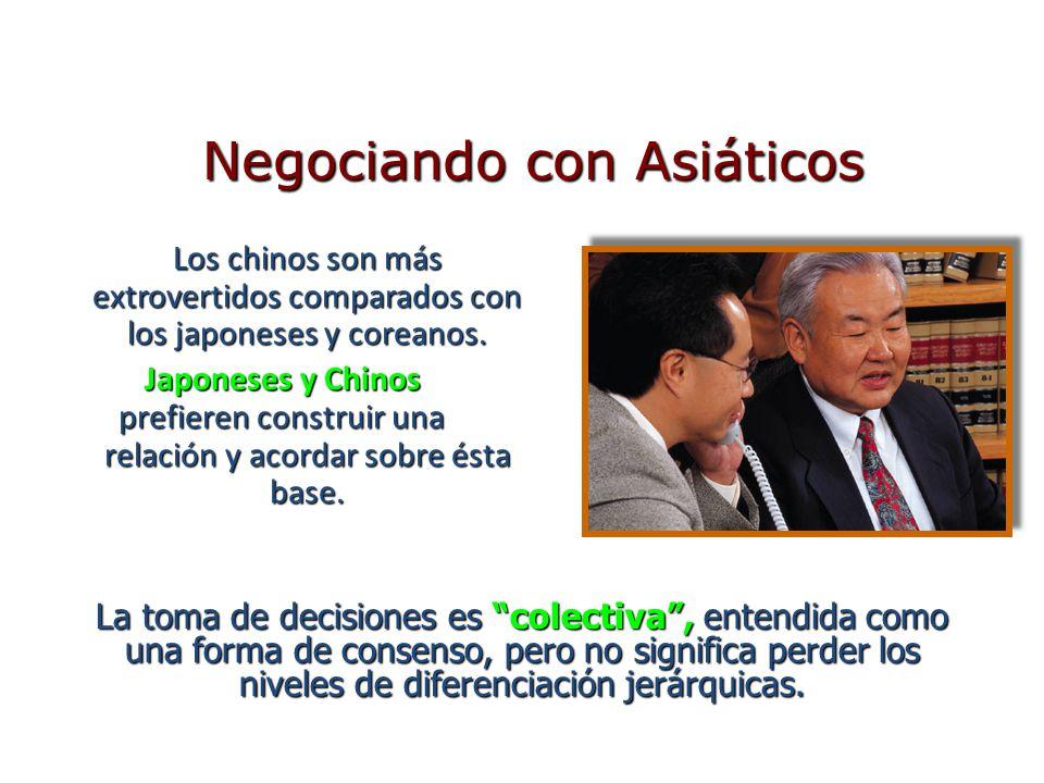 Negociando con Asiáticos
