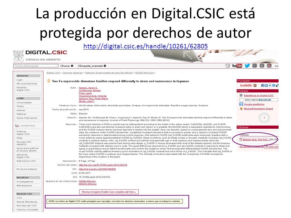 La producción en Digital