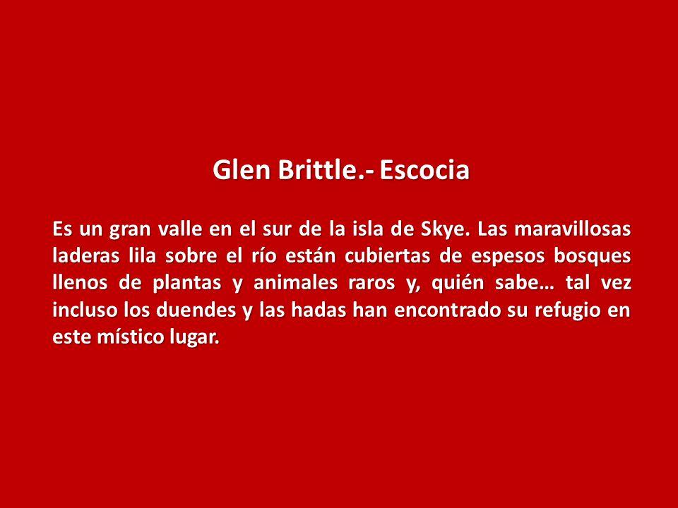 Glen Brittle.- Escocia