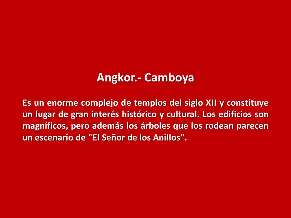 Angkor.- Camboya