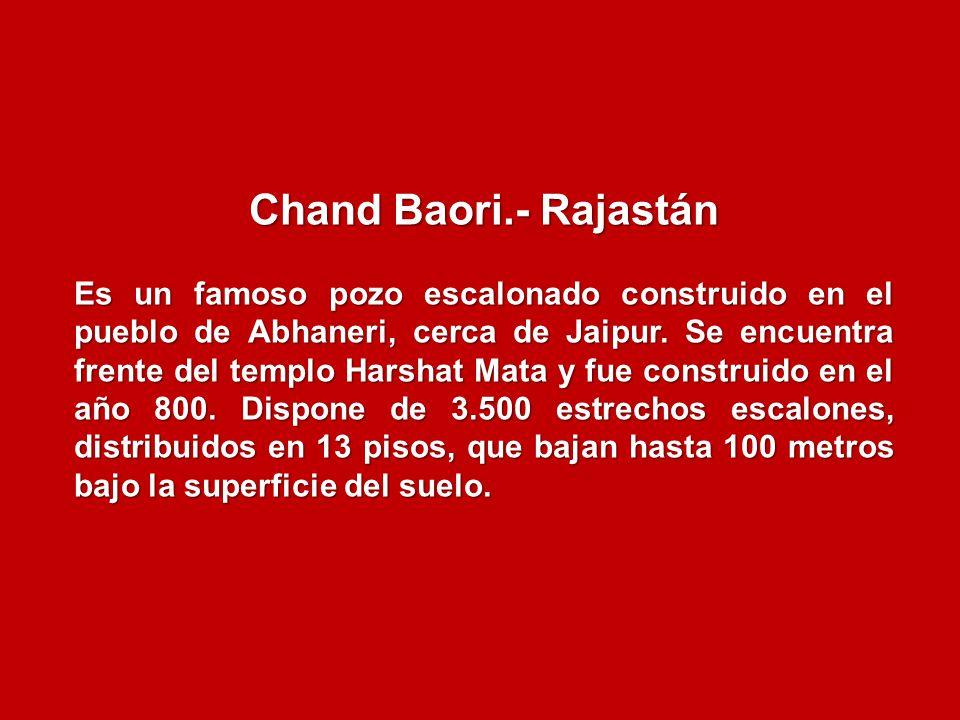 Chand Baori.- Rajastán