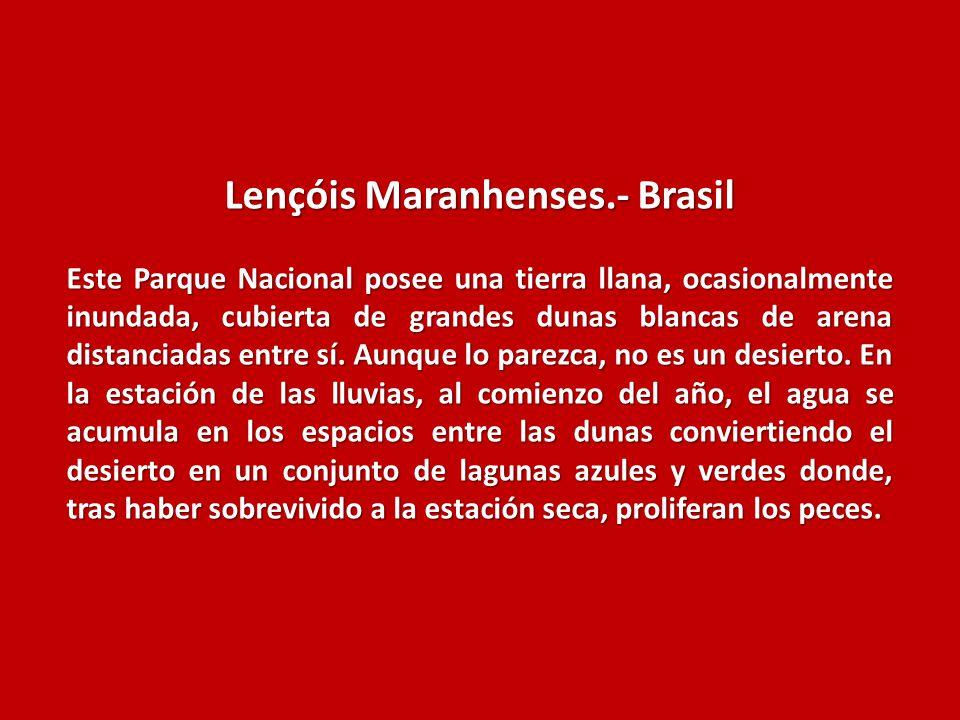 Lençóis Maranhenses.- Brasil