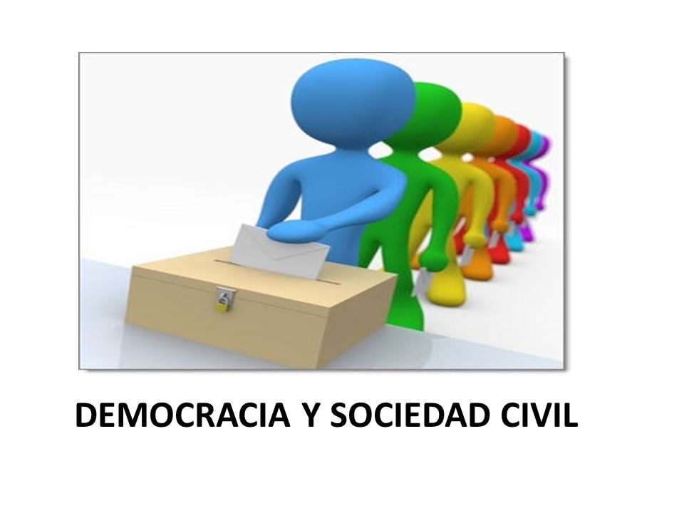 DEMOCRACIA Y SOCIEDAD CIVIL