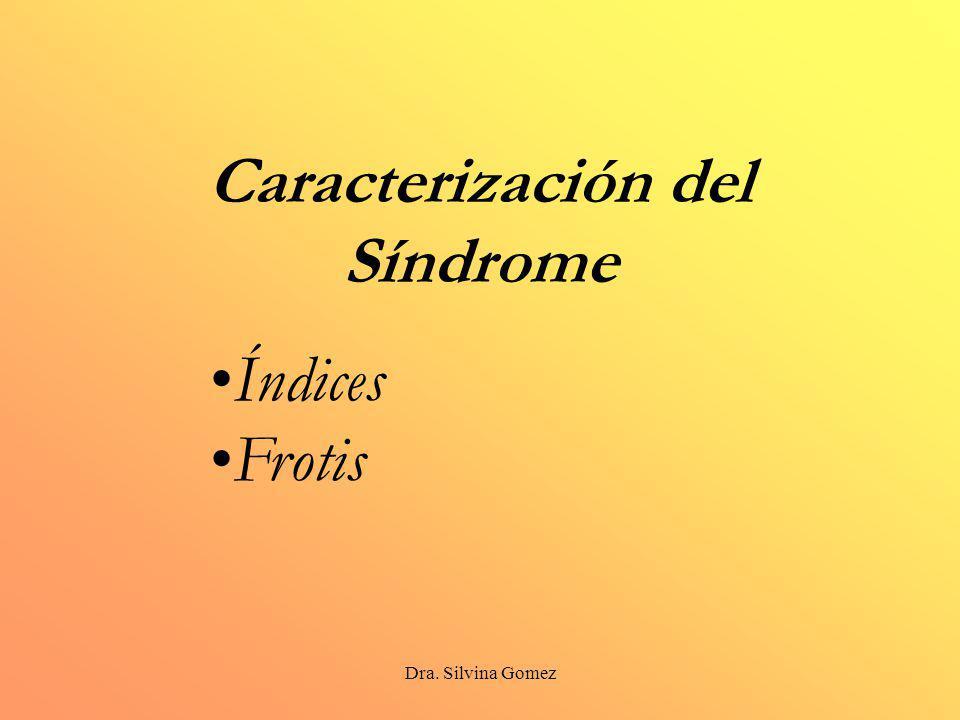 Caracterización del Síndrome