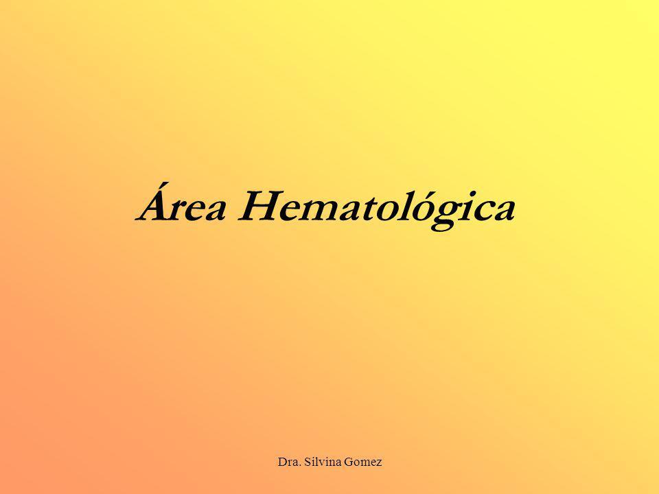 Área Hematológica Dra. Silvina Gomez