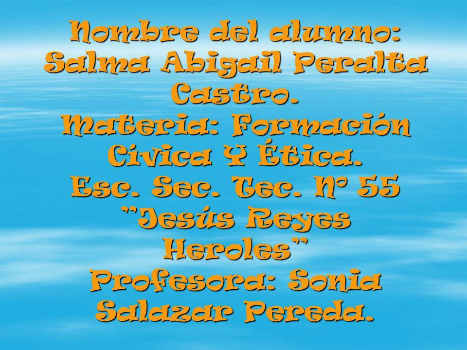 Nombre del alumno: Salma Abigail Peralta Castro