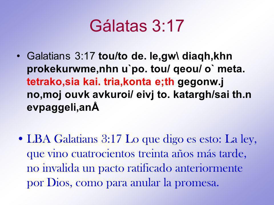 Gálatas 3:17