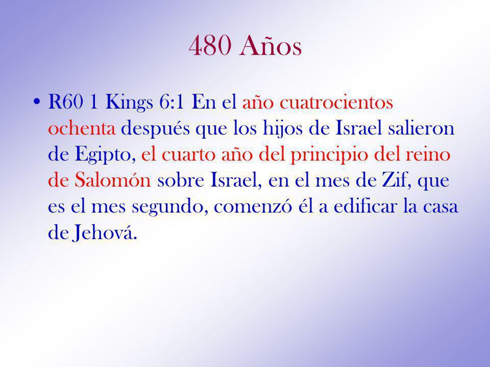 480 Años