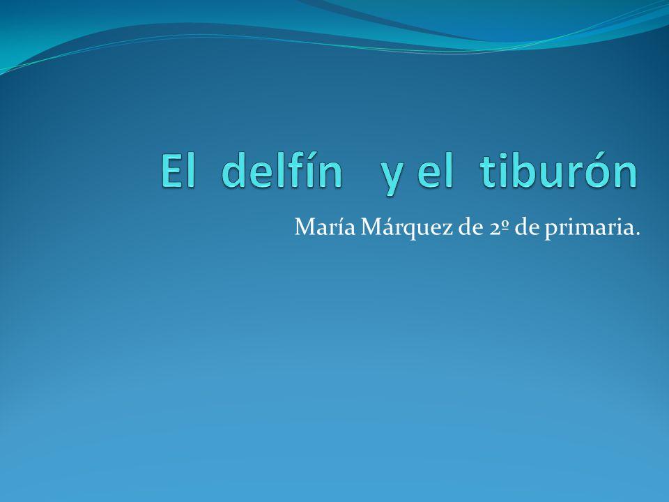 María Márquez de 2º de primaria.