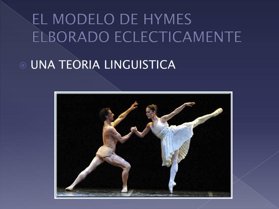 EL MODELO DE HYMES ELBORADO ECLECTICAMENTE