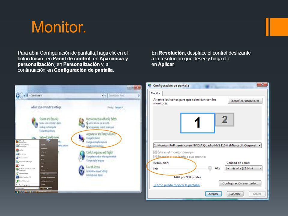 Monitor.