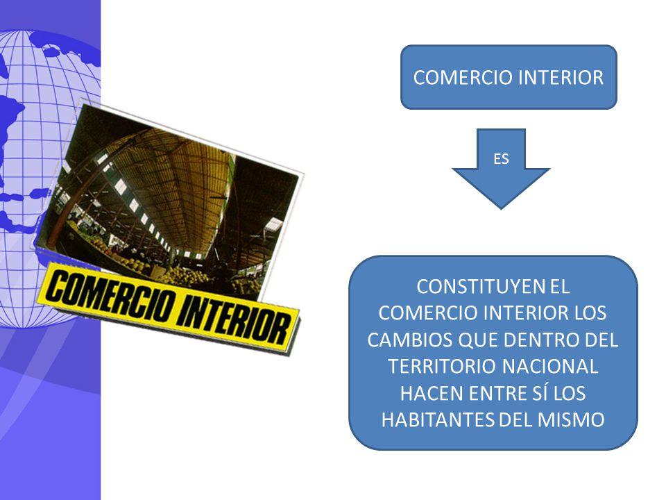 COMERCIO INTERIOR ES.