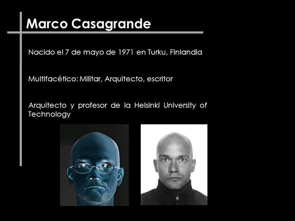 Marco Casagrande Nacido el 7 de mayo de 1971 en Turku, Finlandia