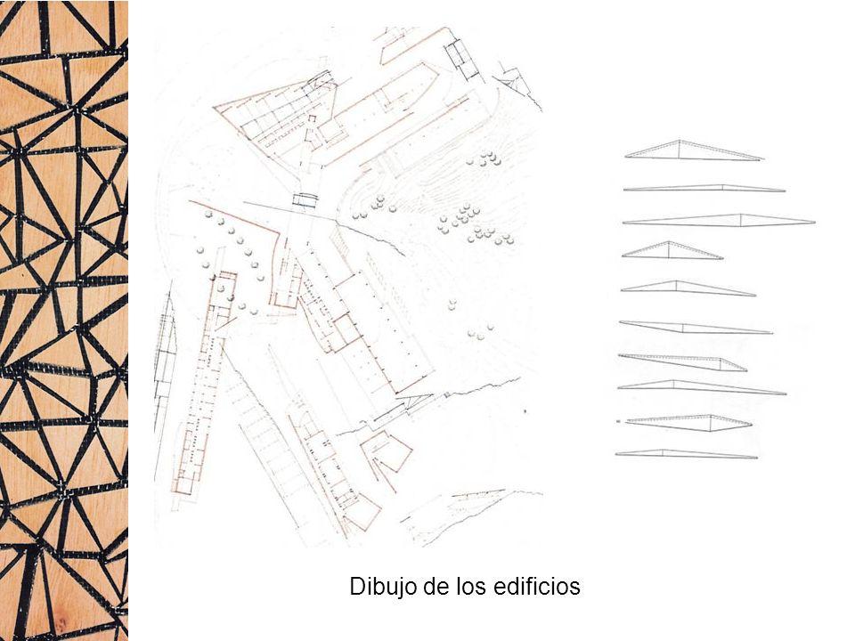 Dibujo de los edificios