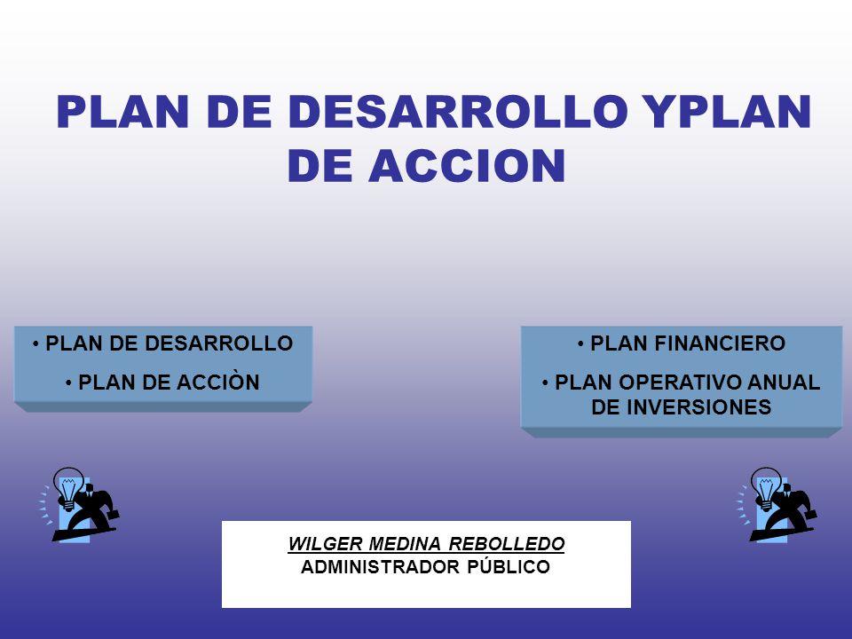PLAN DE DESARROLLO YPLAN DE ACCION