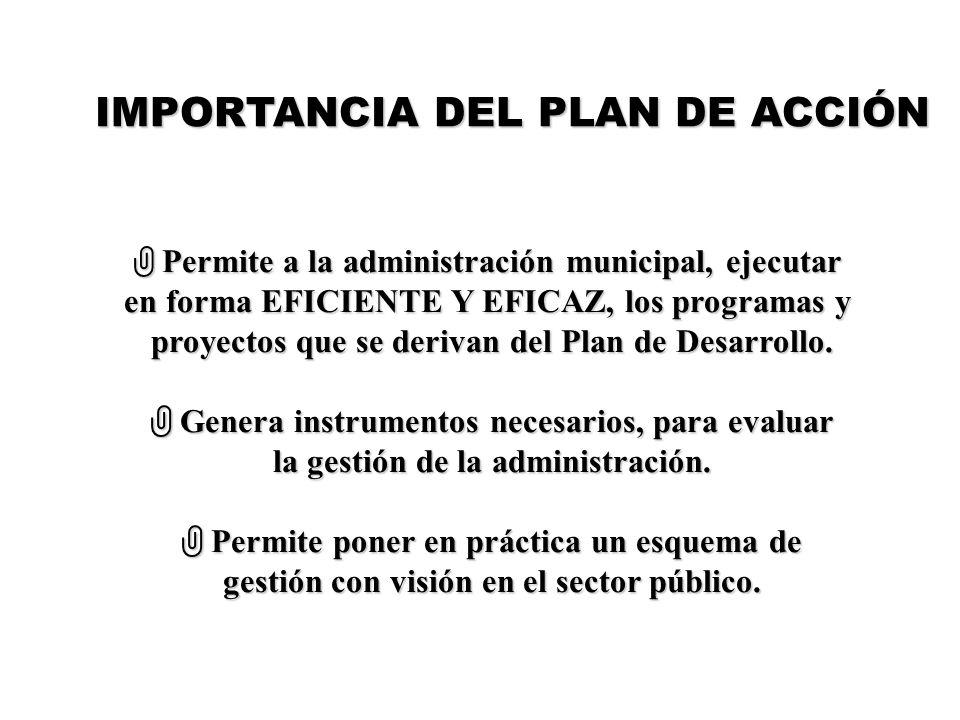IMPORTANCIA DEL PLAN DE ACCIÓN