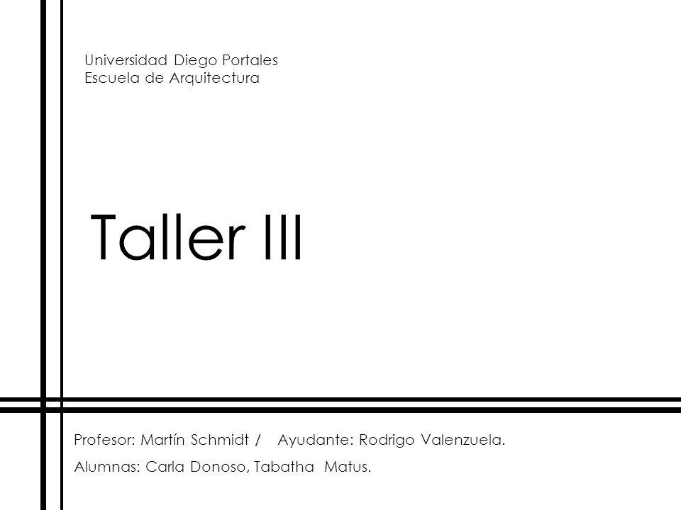 Universidad Diego Portales Escuela de Arquitectura
