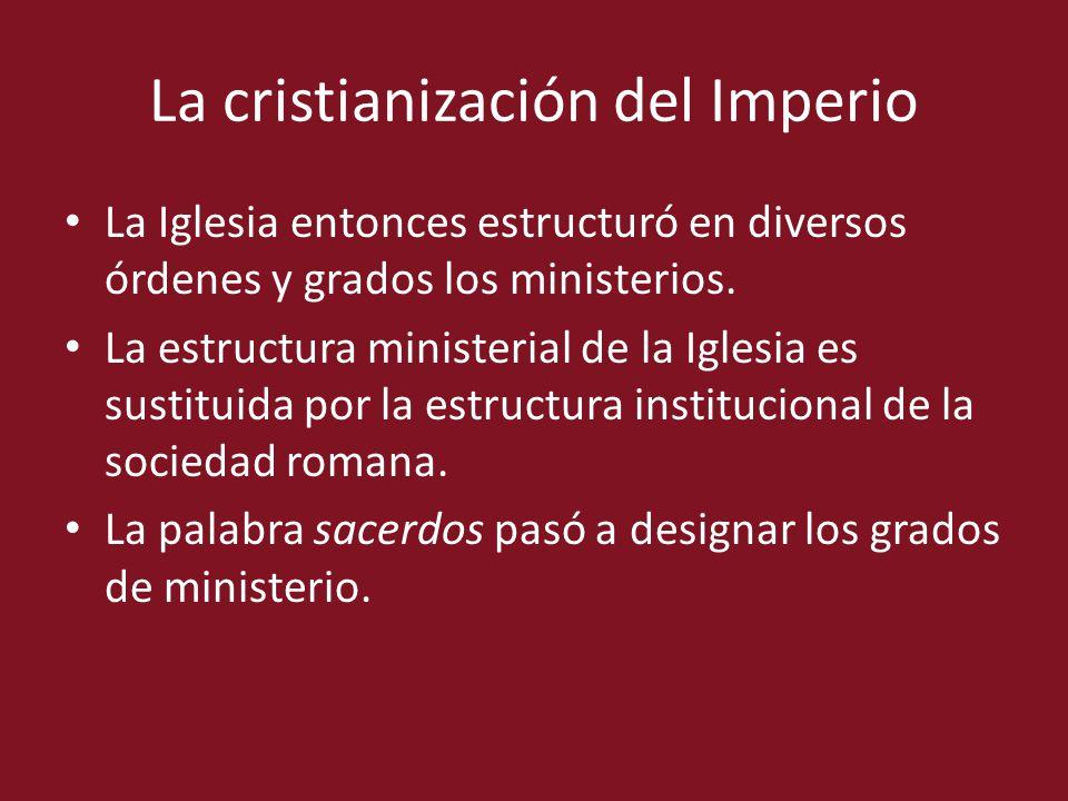 La cristianización del Imperio