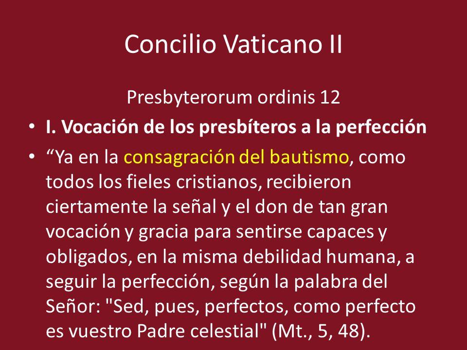 Presbyterorum ordinis 12