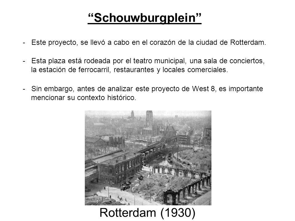 Schouwburgplein Rotterdam (1930)