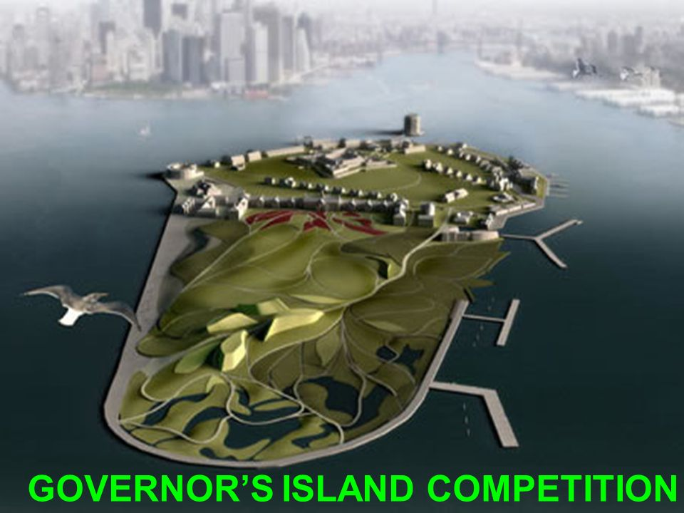 GOVERNOR'S ISLAND COMPETITION