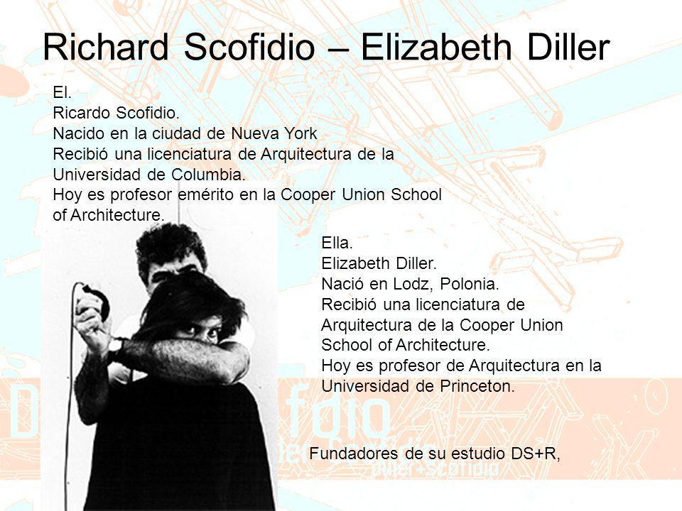 Richard Scofidio – Elizabeth Diller