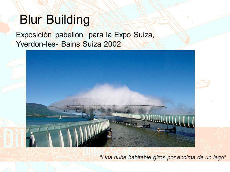 Blur Building Exposición pabellón para la Expo Suiza,