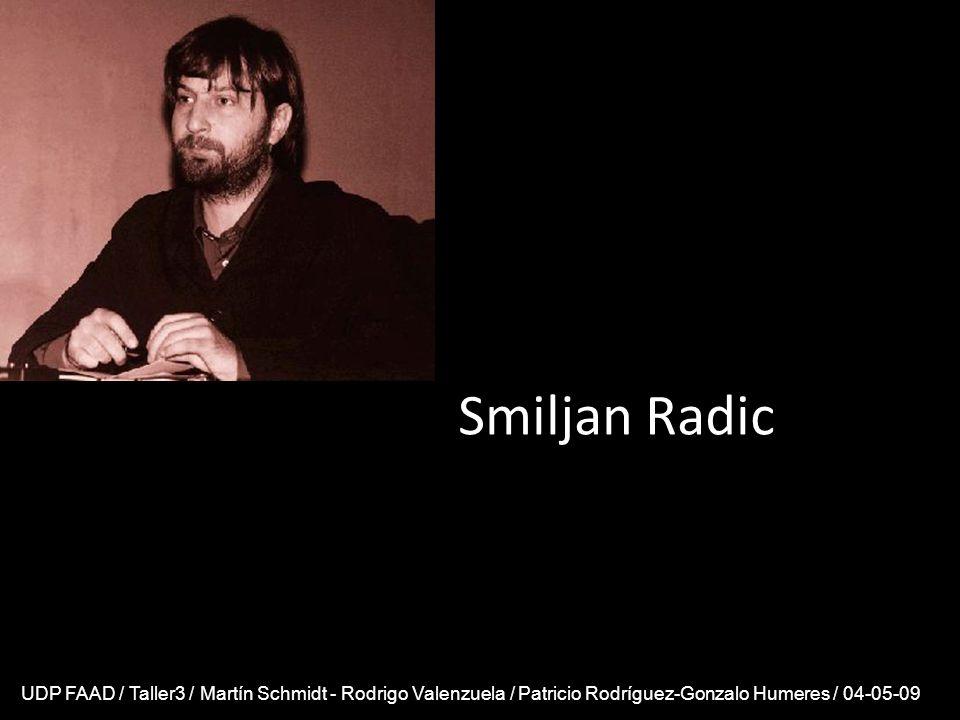 Smiljan Radic UDP FAAD / Taller3 / Martín Schmidt - Rodrigo Valenzuela / Patricio Rodríguez-Gonzalo Humeres / 04-05-09.