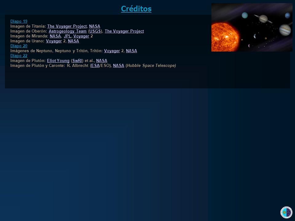 Créditos Diapo 19 Imagen de Titania: The Voyager Project, NASA
