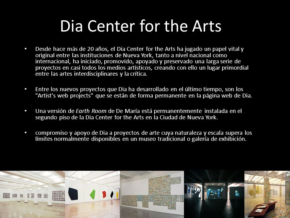 Dia Center for the Arts