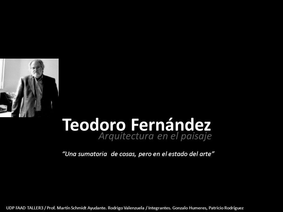 Teodoro Fernández Arquitectura en el paisaje