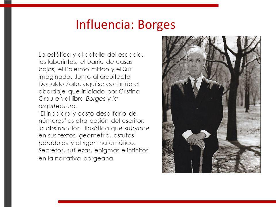 Influencia: Borges