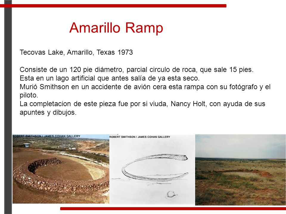 Amarillo Ramp Tecovas Lake, Amarillo, Texas 1973