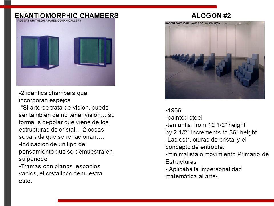 ENANTIOMORPHIC CHAMBERS ALOGON #2