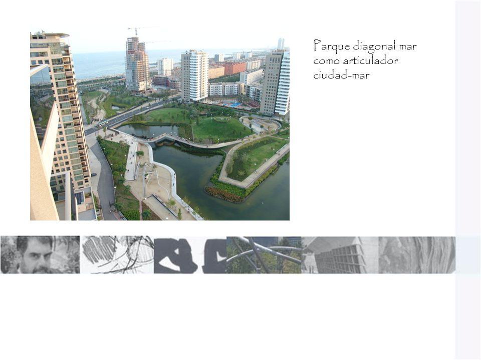 Parque diagonal mar como articulador ciudad-mar