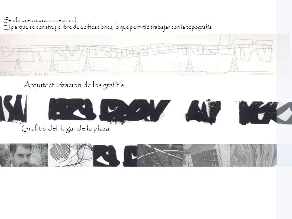 Arquitecturizacion de los grafitis.