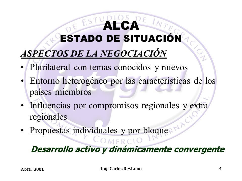 ALCA ESTADO DE SITUACIÓN