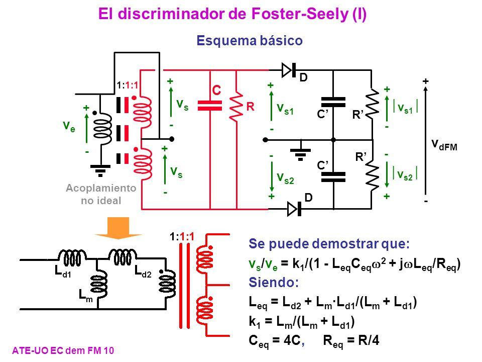 El discriminador de Foster-Seely (I)
