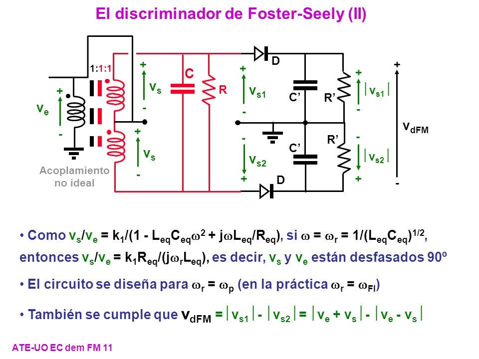 El discriminador de Foster-Seely (II)