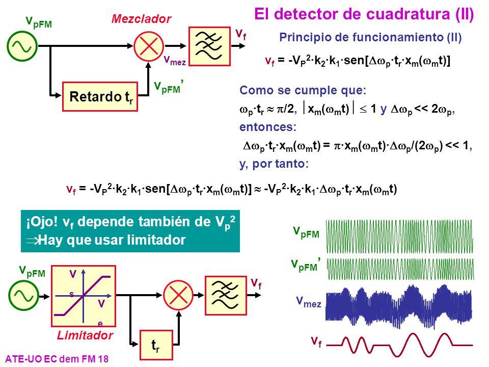 El detector de cuadratura (II)