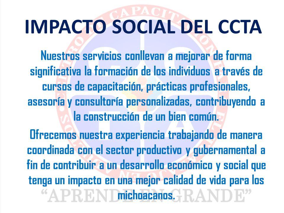 IMPACTO SOCIAL DEL CCTA