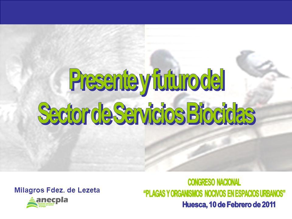 Presente y futuro del Sector de Servicios Biocidas