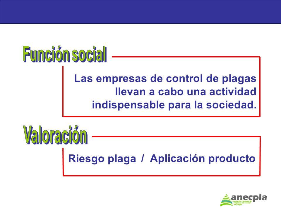 Función social Valoración