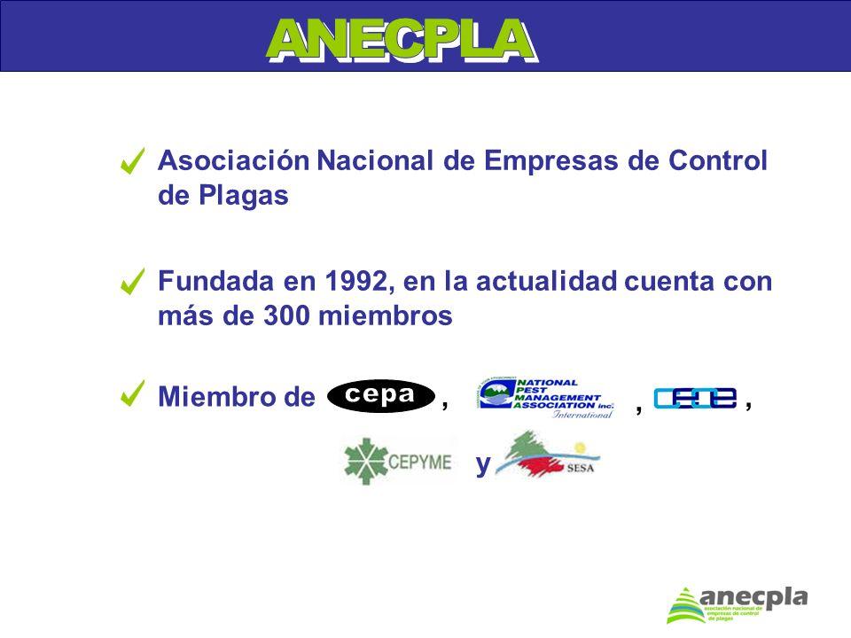 ANECPLA Asociación Nacional de Empresas de Control de Plagas