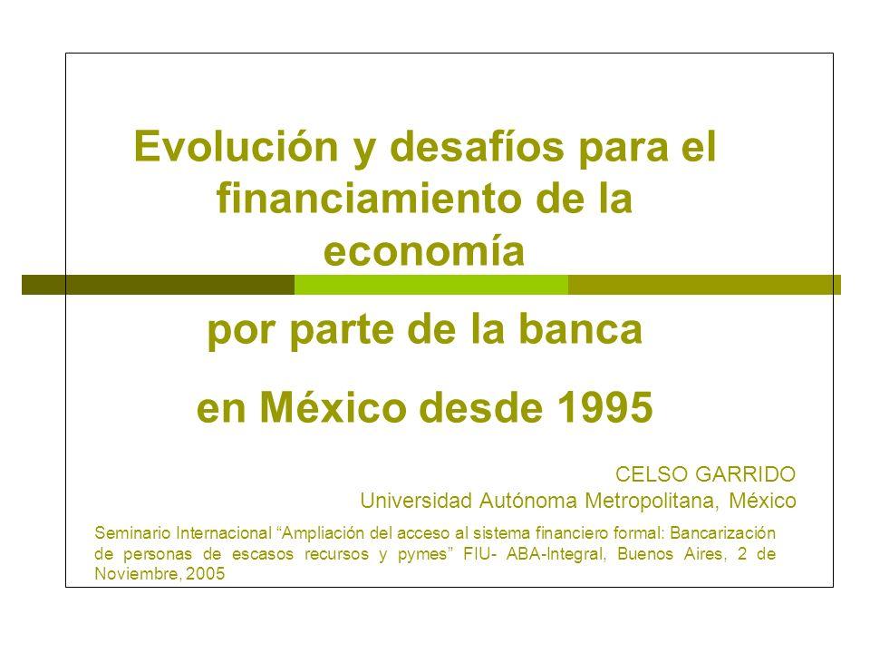 Evolución y desafíos para el financiamiento de la economía