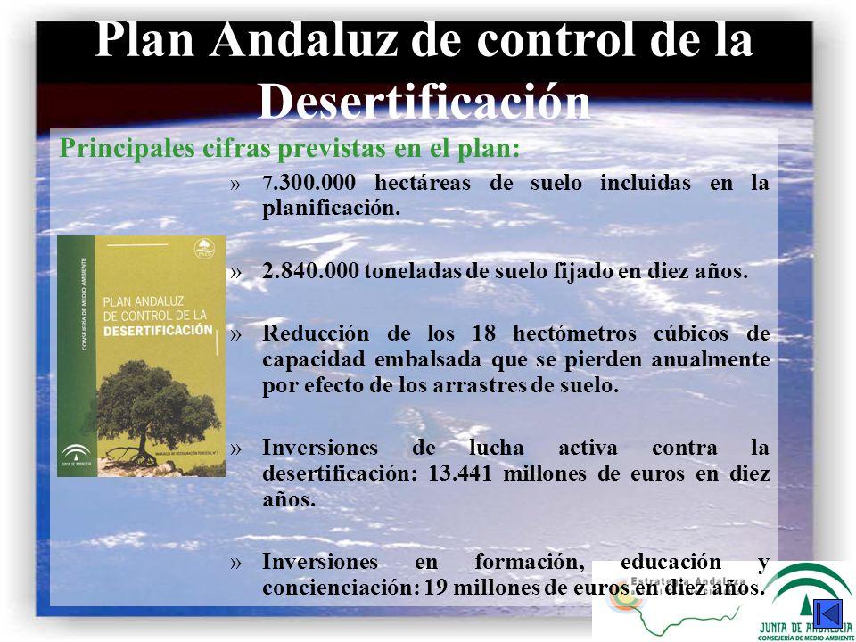 Plan Andaluz de control de la Desertificación