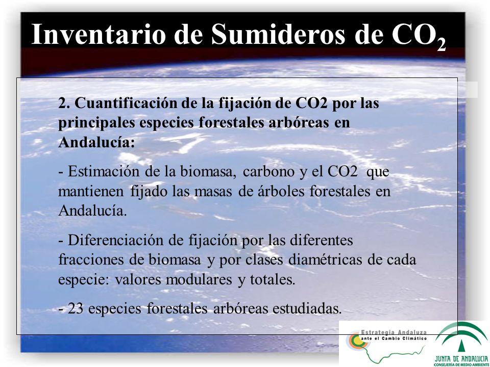 Inventario de Sumideros de CO2