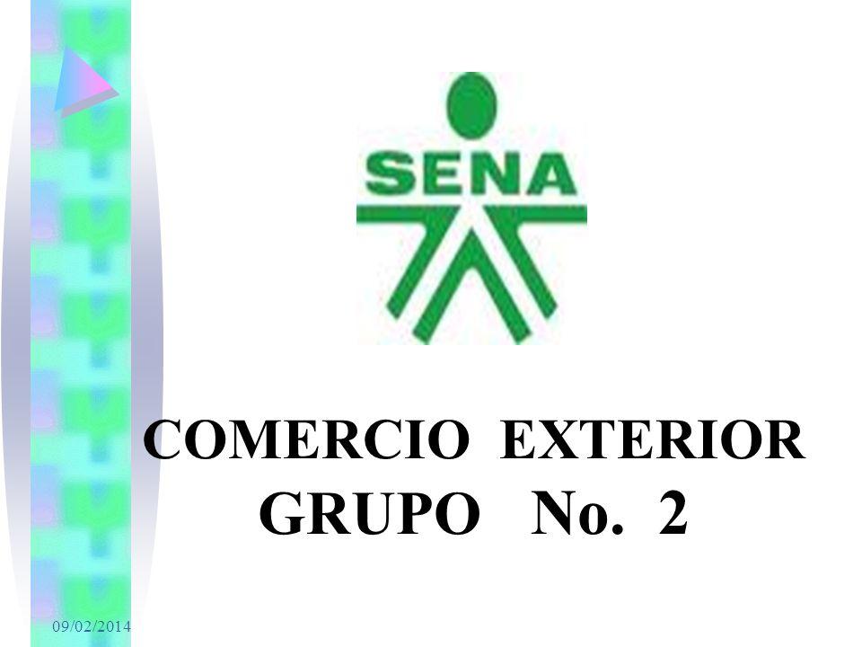 COMERCIO EXTERIOR GRUPO No. 2